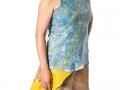 Contemporary Fashion: Briny Top & East Coast Sandstone Skirt by Caroline Burton (Bombay)