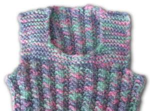 Knitting Pattern Baby Singlet : Free Patterns   Creative Fibre New Zealand